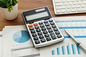 Financial Accounting With Calculator poster