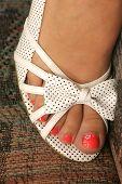 Open Toe Shoe