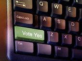 Vote Yes Key
