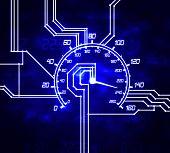 Hitech Speedometer