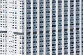 Facade Of A Big White Building