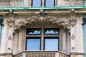Burrage Mansion Balcony