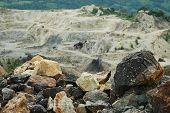 Open Cast Gold Mine, Romania