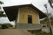 NOVO CRUZEIRO, BRAZIL - JULY 27: The only town postal station is shown July 27, 2005 in Novo Cruzeir