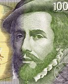 SPAIN - CIRCA 1992: Hernan Cortes (1485-1547) on 1000 Pesetas 1992 Banknote From Spain. Spanish Conq