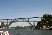 Dona Maria Pia And Sao Joao Bridges