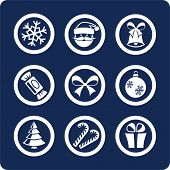 Christmas and New Year (p.1) To see all icons, search by keywords: