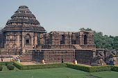 Hindu Sun Temple At Konark