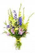 Large colorful flower arrangement