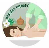 Massage Therapy. Spa Therapy. Professional Massage Services poster