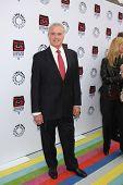 LOS ANGELES - APR 12:  Kevin Dobson arrives at Warner Brothers