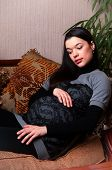 A Young Pregnant Woman