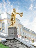 Statue Of Perseus, Petergof, Saint Petersburg, Russia