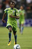 CARSON, CA. - 14 de agosto: Seattle Sounders M (23) SANNA NYASSI durante el Chivas USA vs Seattle Sounders
