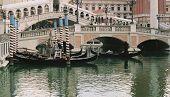 Gondolas At Venitian