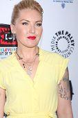 LOS ANGELES - APR 12:  Cherish Lee arrives at Warner Brothers