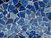 Gaudi Mosaic Tiles - Barcelona, Spain