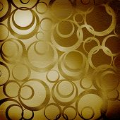 Abstract Brown Background With Circles