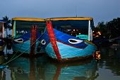 Boats In Hoian