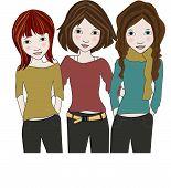 3 Girl Friends