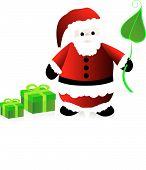 Green Santa Clause