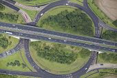 Road Junction Aerial
