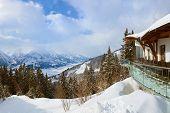 Berge Ski Resort Zell am See Österreich