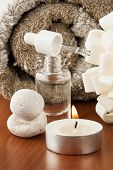 Aromatherapy Oil And Candle