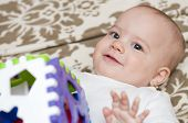 Adorable Baby Playing