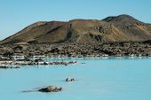 Iceland. Blue Lagoon.