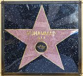 Muhammad Ali's Star On Hollywood Walk Of Fame