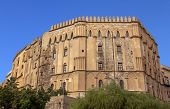 Palazzo Reale (Royal palace) Norman side in Palermo, Sicily: the oldest royal seat in Europe