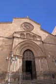 San Francesco d'Assisi church facade in Palermo, Sicily
