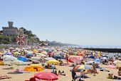 Summer Day In The Beach Of Estoril