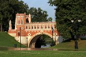 Figured Bridge In Tsaritsyno