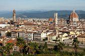 Florence, Basilica Santa Maria Del Fiore And Piazza Della Signoria
