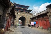 Ancient Drum Tower In Luoyang