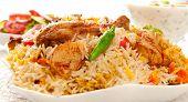 Chicken Biryani-J