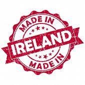Made In Ireland Grunge Seal