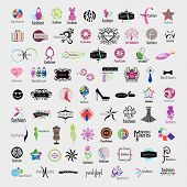Biggest Collection Of Vector Icons Of Fashion Accessories And Clothing