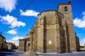 Church Of Santa Maria, Boadilla Del Camino, Spain
