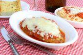 Chicken Parmigiana Dinner