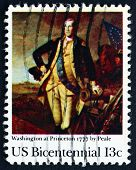 Postage Stamp Usa 1977 Washington, Nassau Hall, Hessians