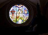Rose Window Of The Granon Church