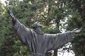 image of patron  - Francis of Assisi patron saint of Italy - JPG