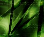 3 D Green Background