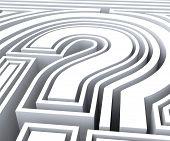 Question Mark Symbol Shows Faq Solving
