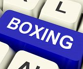 Boxing Key Show Fighting Or Punching.