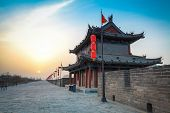 Ancient City Of Xi'an Scenery