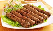 picture of kababs  - A delicious - JPG